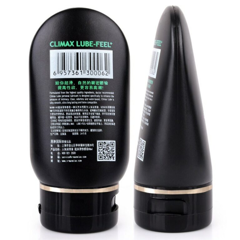 60ml Silk Touch Anal Analgesic Sex Lubricant Water Base